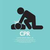 CPR или кардиопульмональная реаниматология Стоковое Изображение