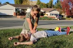 CPR photo libre de droits