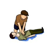 CPR stock illustratie