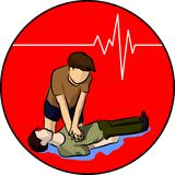CPR Photo libre de droits