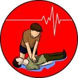 CPR Zdjęcie Royalty Free