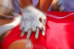 CPR Arkivfoton
