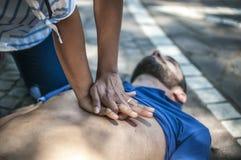 CPR Lizenzfreie Stockfotografie