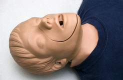 CPR dummy Royalty Free Stock Images