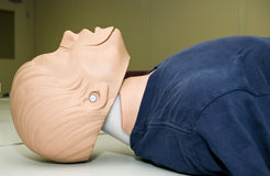 CPR dummy Stock Image