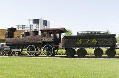 CPR-trein 374 Royalty-vrije Stock Foto's
