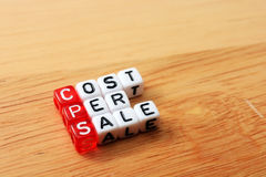 CPS Cost Per Sale Stock Photos