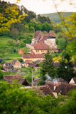 Cpsa Mare Village in transylvania Romania Royalty Free Stock Photography