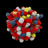 Cápsulas da medicina Fotografia de Stock