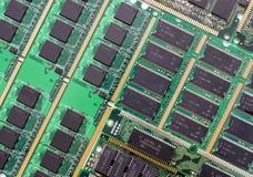 CPU主板 库存图片