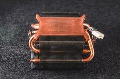 CPU从个人计算机的热坠子 免版税图库摄影