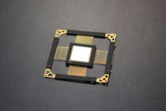 CPU芯片 库存图片