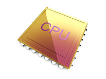 CPU Image stock