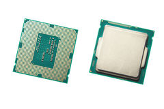 Cpu royalty-vrije stock foto