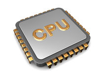 CPU Royaltyfria Bilder