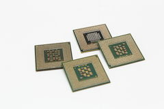 CPU Fotografie Stock