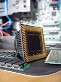 The CPU royalty free stock photo