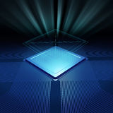 Cpu background Royalty Free Stock Image