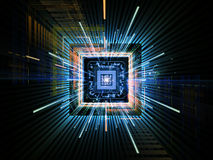 CPU Burst Stock Image