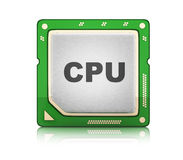 CPU Central processor unit Royalty Free Stock Photos