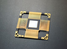 CPU chip Royalty Free Stock Photos