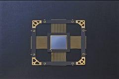 CPU chip Stock Image