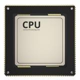 CPU Chip oder Mikrochip Stockbild