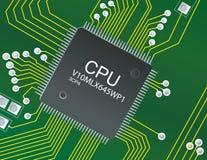CPU Cicruit Stock Photos
