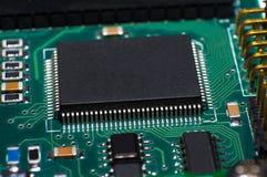 Cpu circuit board Royalty Free Stock Photos