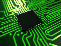 Cpu close up Royalty Free Stock Photo