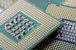 CPU  close-up Stock Images
