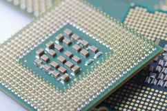 CPU  close-up Royalty Free Stock Images
