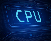 CPU concept. Stock Photography