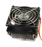CPU Cooler Stock Image