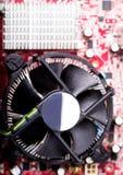 CPU-cooler Arkivbild