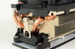 Cpu cooler. Close up detail of cpu cooler Stock Photos