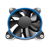 Cpu cooler fan Royalty Free Stock Images