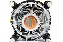 Cpu cooler , Heat Sinc Stock Image