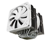 Cpu cooler , Heat Sink on isolated background Royalty Free Stock Photos