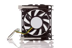 CPU Cooler isolated on white background Royalty Free Stock Photos