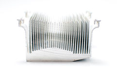CPU Cooler isolated on white background Stock Image