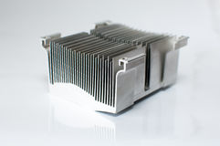 CPU Cooler isolated on white background Stock Photo