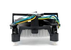 CPU cooler Stock Image