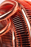 CPU cooler with pipes Royalty Free Stock Photos
