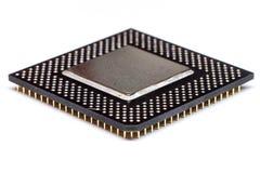 Cpu-CPUmicrochip stock foto's