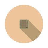 CPU de la imagen del vector Fotos de archivo libres de regalías
