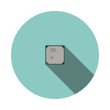 CPU de la imagen del vector Fotografía de archivo