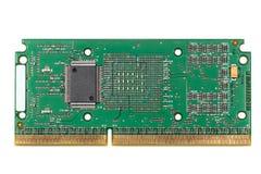 CPU de la tarjeta de circuitos Imágenes de archivo libres de regalías