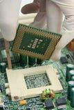 CPU del ordenador Foto de archivo