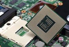 CPU del procesador del ordenador Imágenes de archivo libres de regalías